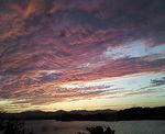 浜名湖の夕焼け(夕焼け大目)